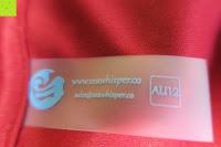 Etikett: Seawhisper DE Größe 34-50 Rundausschnitt 3/4 Arm Aushöhlen Blumen Spitze Kleider