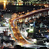 橋と街並み from 高塔山