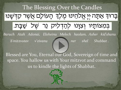 Best Sukkot Blessing Candles