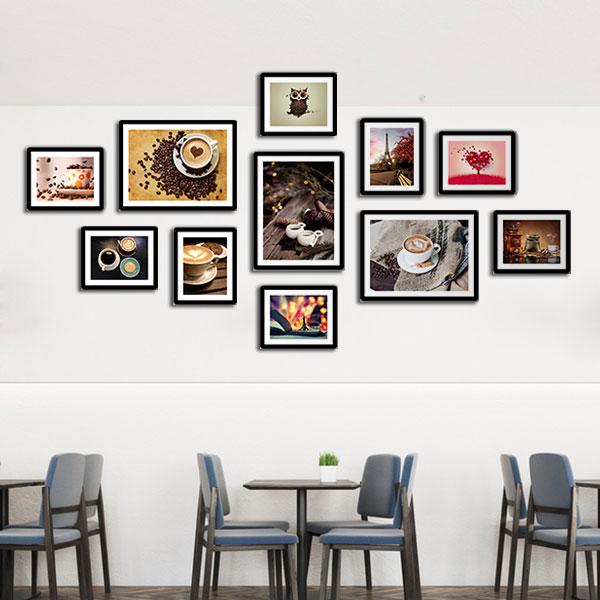 Tranh nghệ thuật trang trí quán cafe giá rẻ