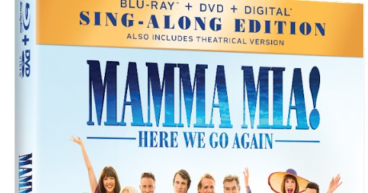 MAMMA MIA! HERE WE GO AGAIN out now on Digital, 4K Ultra HD, Blu-ray & DVD #MammaMia2