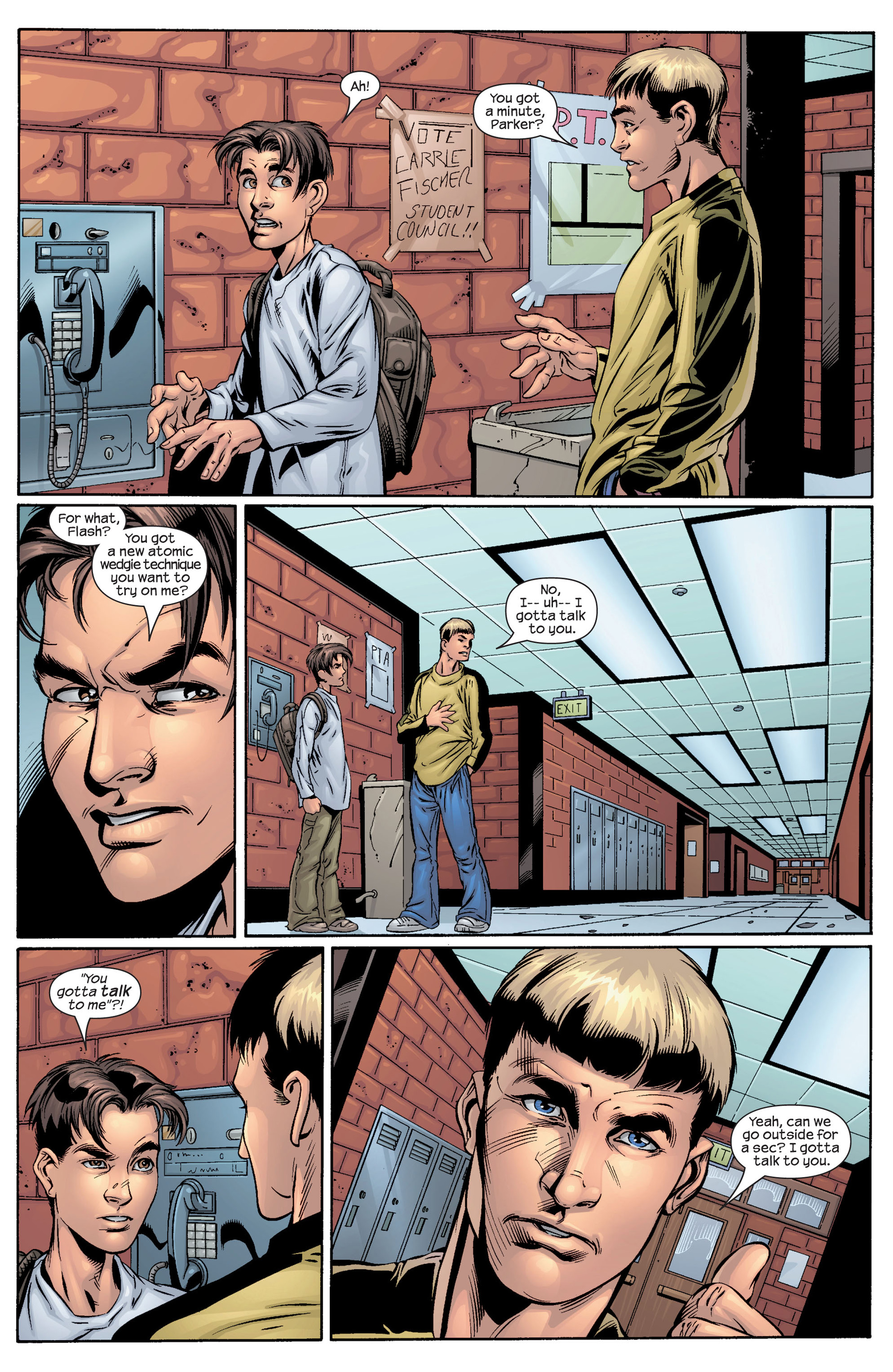 Read online Ultimate Spider-Man (2000) comic -  Issue #40 - 10