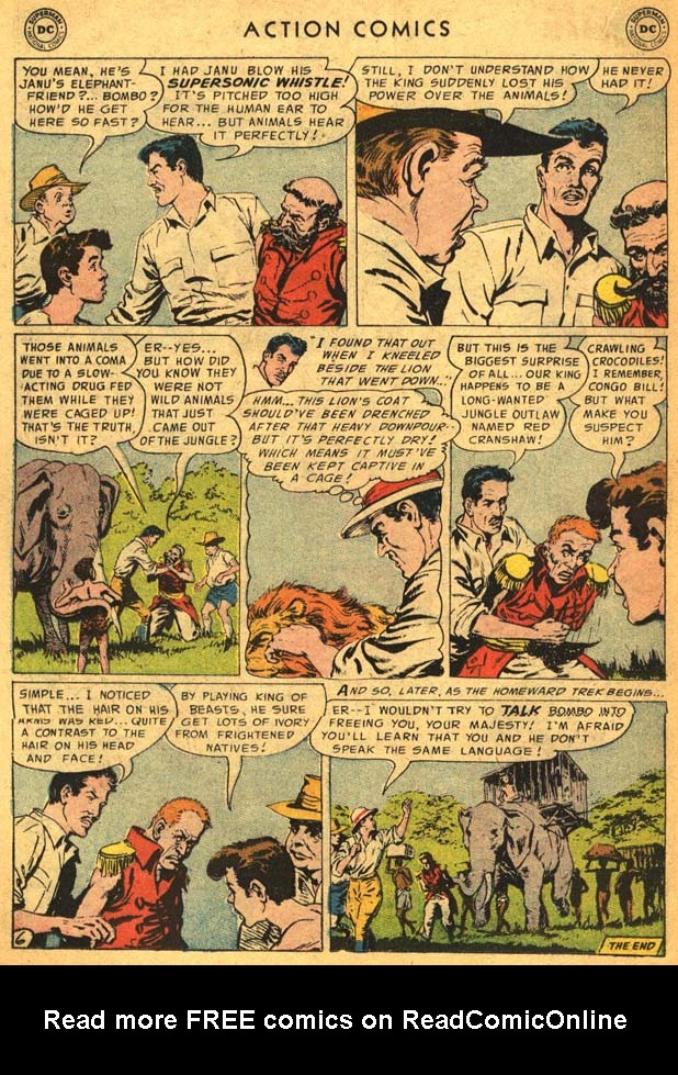 Read online Action Comics (1938) comic -  Issue #210 - 24
