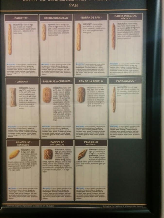 valores nutricionales del pan del lidl, valores nutricionales pan del aldi. Valor energético del pan, lidl y aldi el pan, calorías pan del lidl, harina integral del pan del lidl baguette lidl, barra bocadillo,barra de pan del aldi, barra integral rústica del lidl, pan gallego,pan de la abuela del lidl, pan de la abuela cereales del lidl, chapata del lidl valores, pancecillo con queso del lidl valores nutricionales, pancecillo con semillas del lidl,