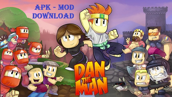 Download Dan The Man Android Apk Mod Game