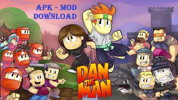 Download Dan The Man Android Apk Mod Game