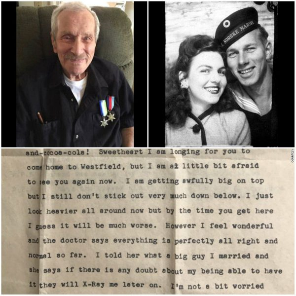 96-Year-Old Man Receives His Wife's Lost Letter After 72 Years