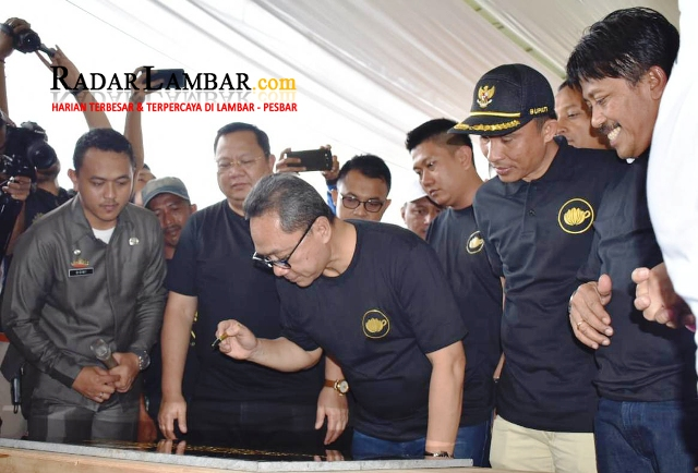Ketua MPR-RI Panen Raya dan Launching Kampung Kopi Rigisjaya