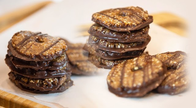 Food: Pre-Workout Protein-Rich Fit Girl Samoa Cookie by Gia Marie Macool