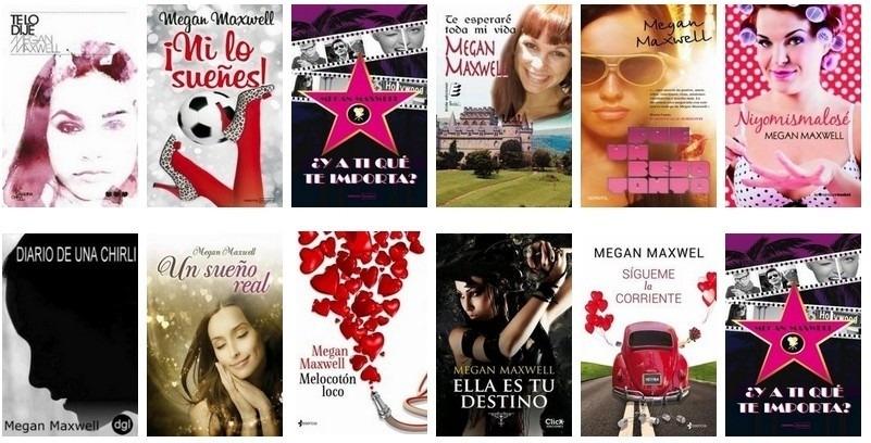 Los 30 Mejores Libros De Megan Maxwell Libros De Megan Maxwell