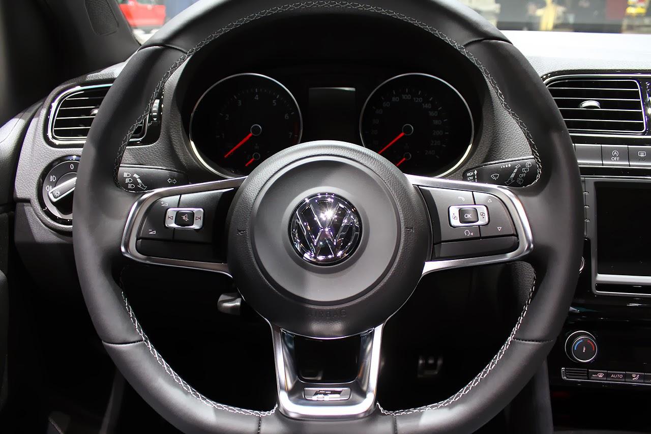Volkswagen Polo TSI R Line Geneva 2014 Photos