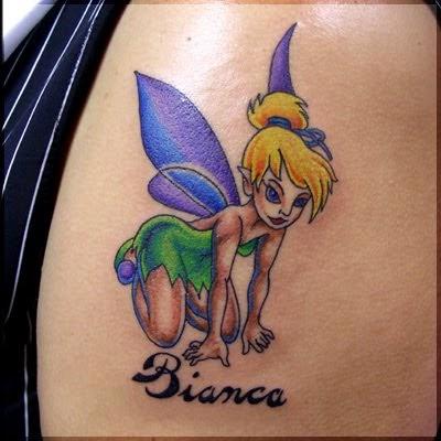 5 Feminine Tinkerbell Tattoos For Girls Designs