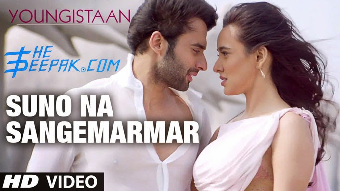 Guitar Chords Suno Na Sangemarmar Arijit Singh Strumming Pattern Lesson Youngistaan Lyrics HD Video Song