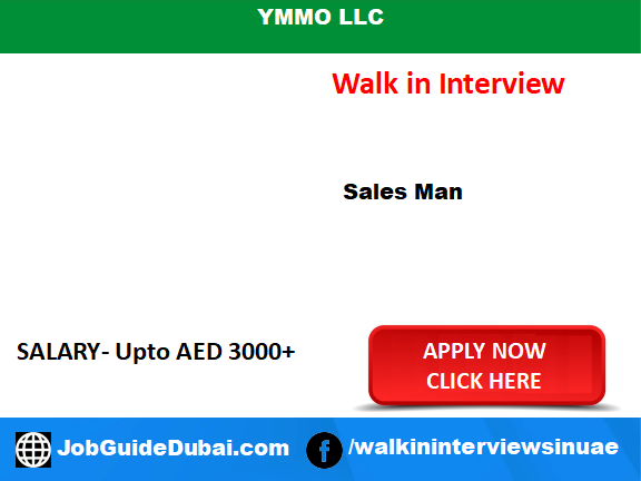 Walk in Jobs for salesman at ymmo llc