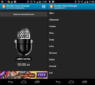 Download Aplikasi Untuk Mengubah Suara di Handphone Android