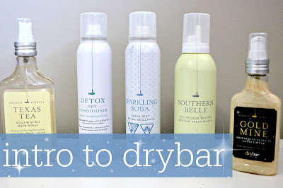 dry bar product and salon review
