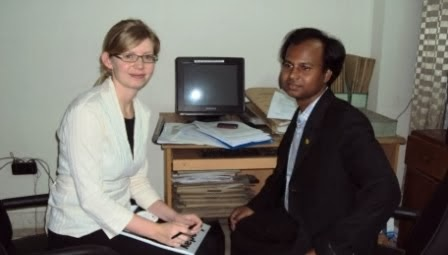 Meeting with human rights officer UNFVT, Switzerland
