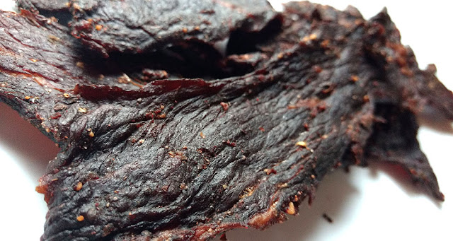 black pepper garlic jerky
