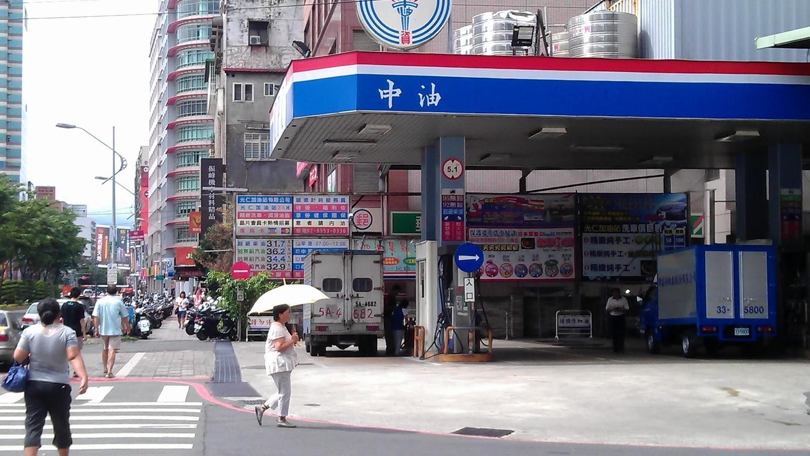 加油站調查 - 北區: 臺灣中油光仁站調查-安