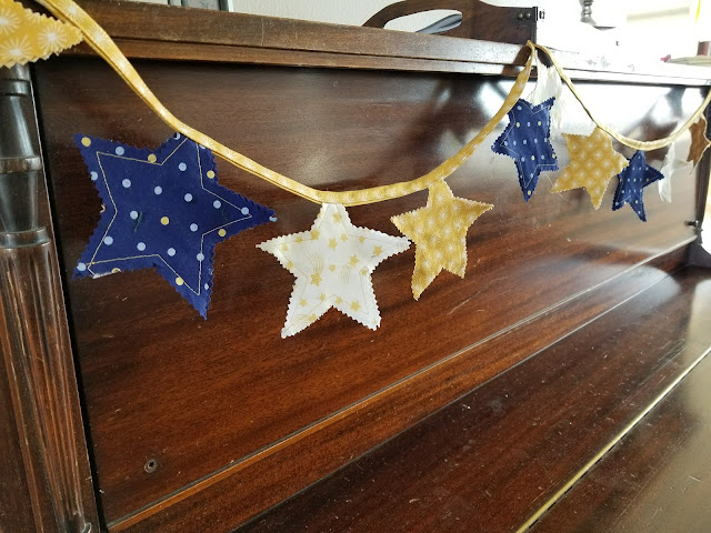 Holiday Bunting Template