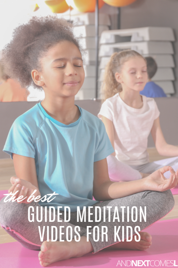 Free meditation guide videos for kids on YouTube