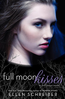Cover art for Full Moon Kisses byEllen Schreiber