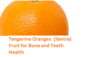 Health Benefits of Tangerine Oranges - Bone and Teeth Health