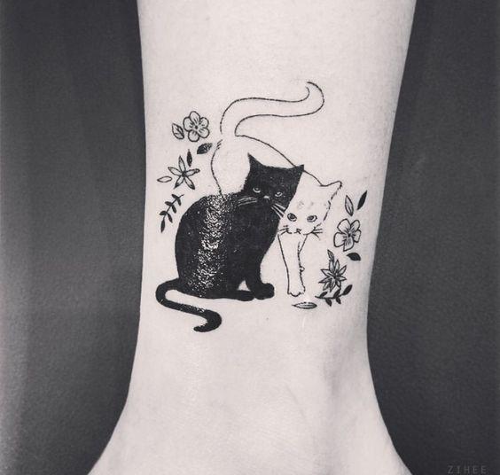 Tatuagens de gato