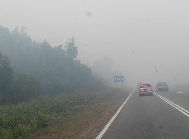 Jerebu Teruk di Bongawan 2016