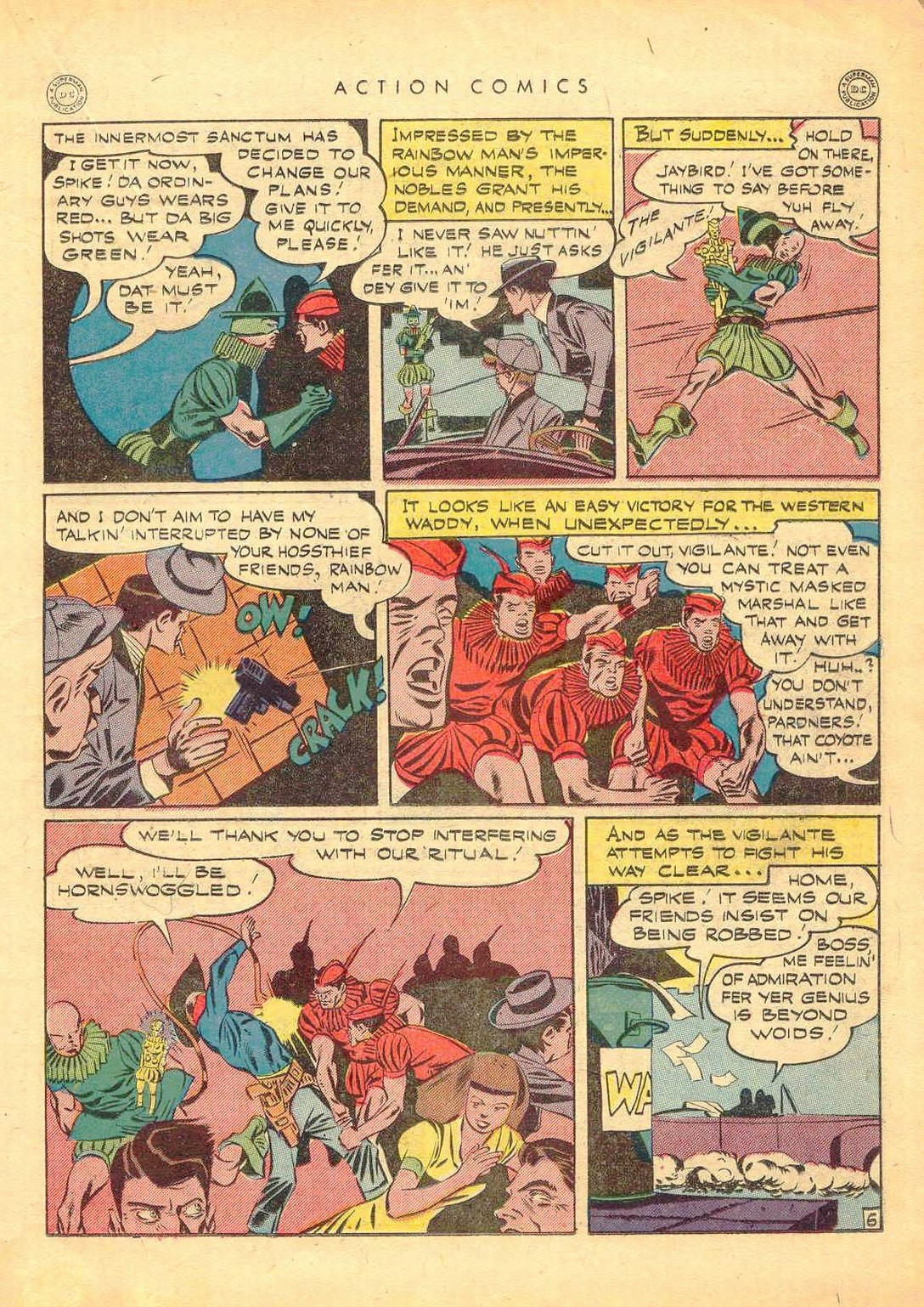 Read online Action Comics (1938) comic -  Issue #77 - 26