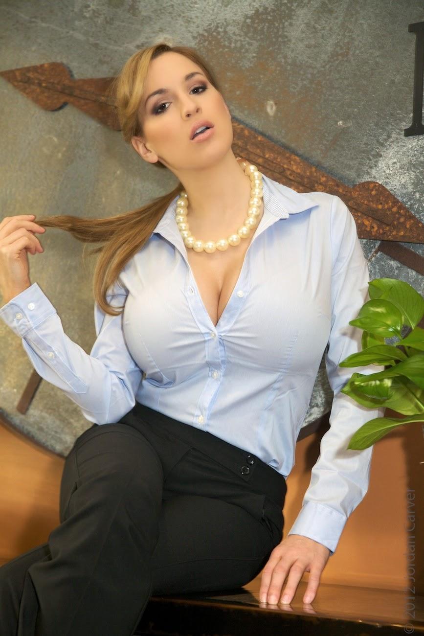 Office boobs