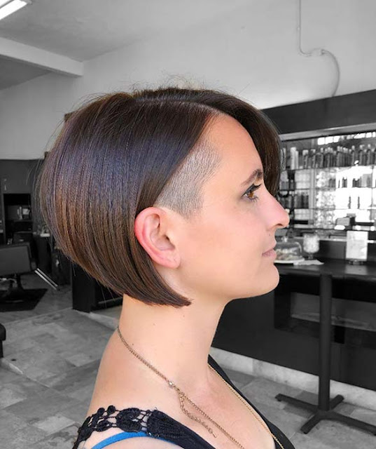 26 Cute and Stunning Undercut Short Haircuts For Girls