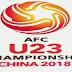 Keputusan Bolasepak AFC B23 Asia China 2018