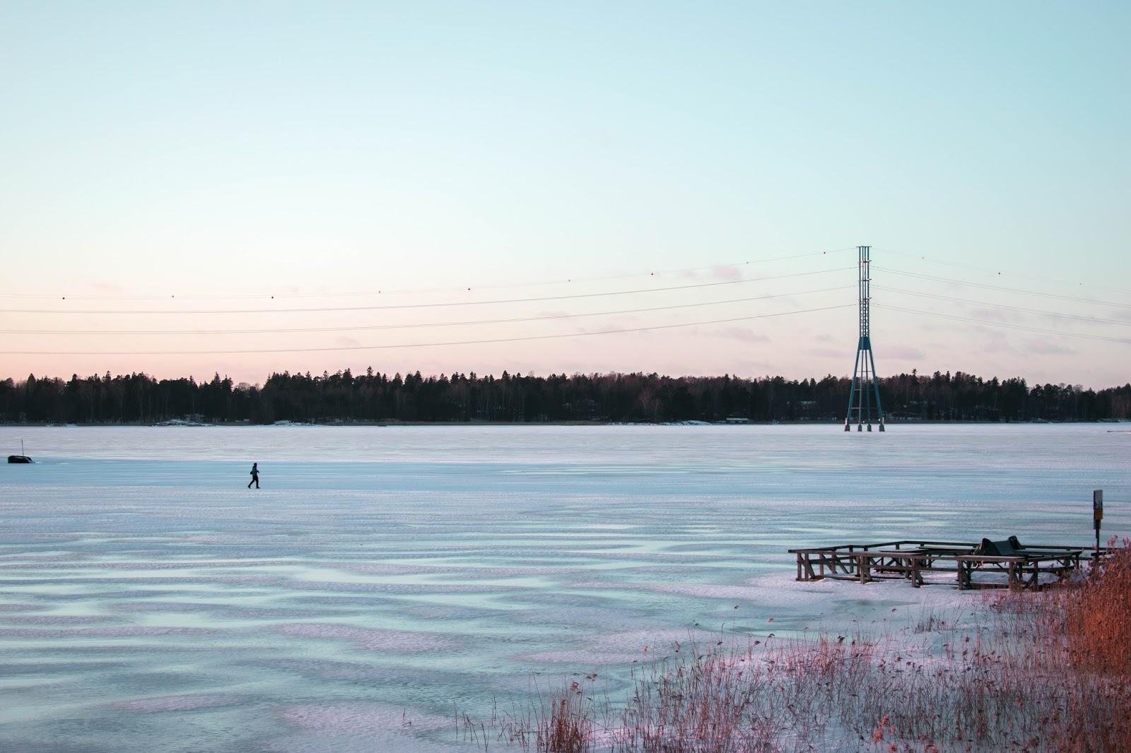 finlande gel froid hiver