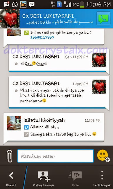 Testimoni Manfaat Crystal X Asli NASA 7