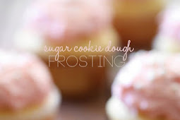 Sugar Cookie Dough Frosting