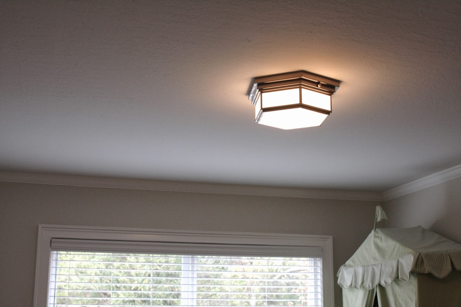 Simply Organized: New Ceiling Lights