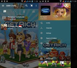 Download BBM MOD GetRich v3.0.0.18 APK Terbaru 2016