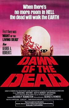 10 zombies movie 2. Dawn of the Dead (1978)