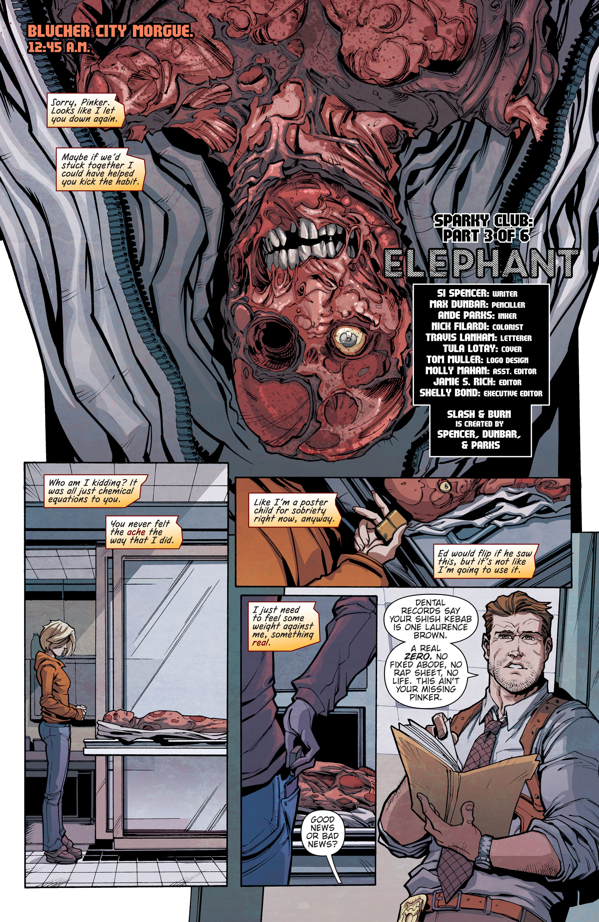 Read online Slash & Burn comic -  Issue #3 - 2