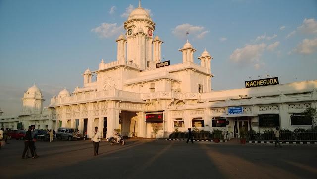 Kacheguda Railway Station in Hyderabad
