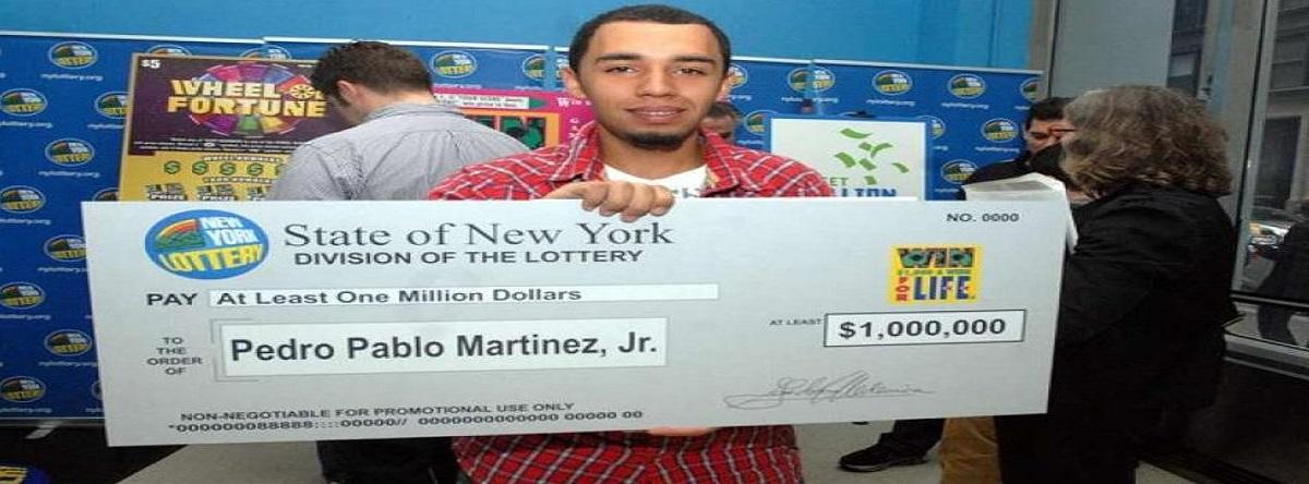 Dominicano gana lotería de Nueva York