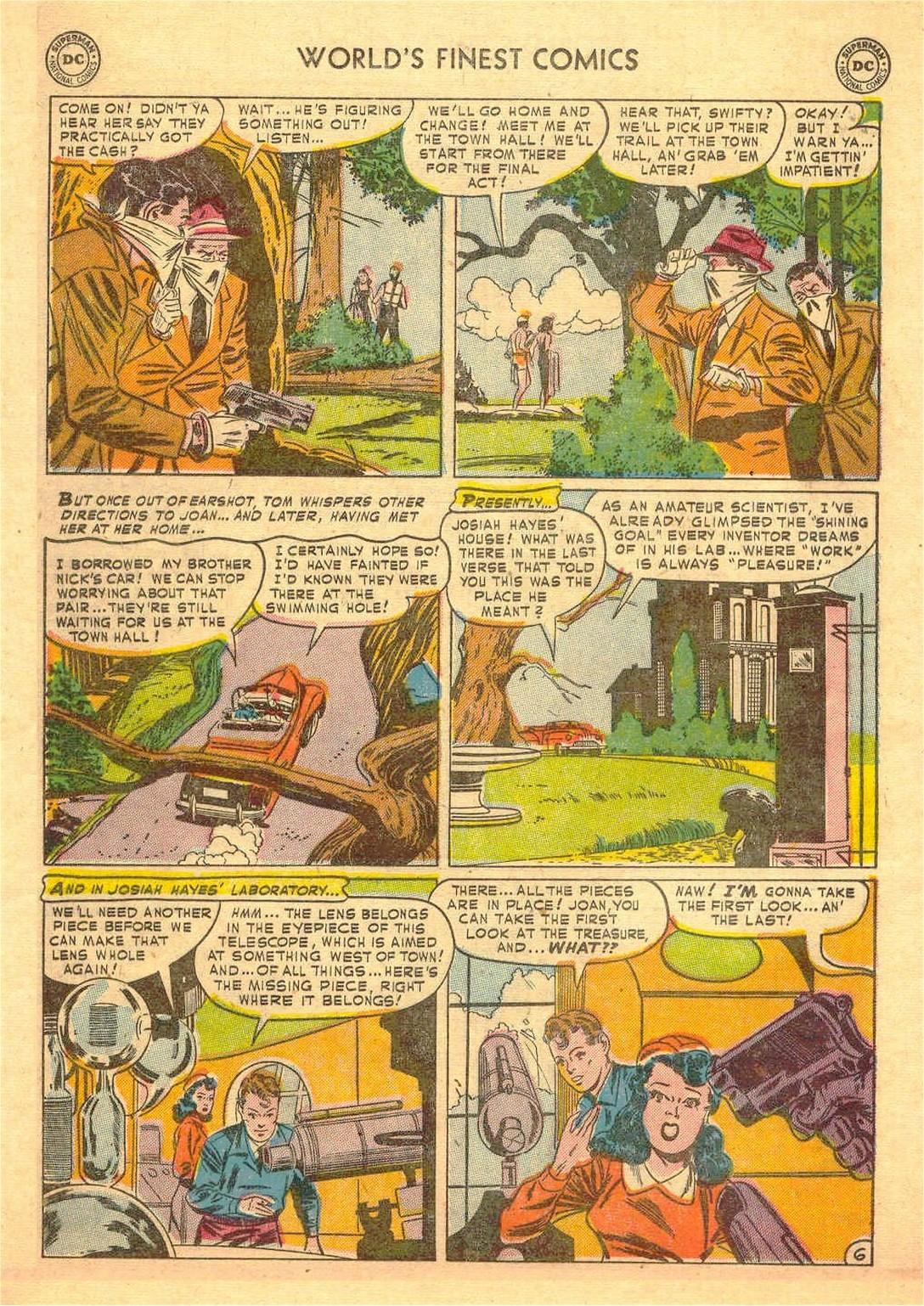 Read online World's Finest Comics comic -  Issue #58 - 46