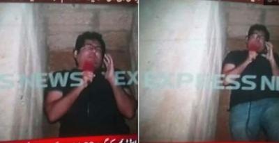 Jurnalis Melaporkan Langsung dari Dalam Liang Kubur di Pakistan