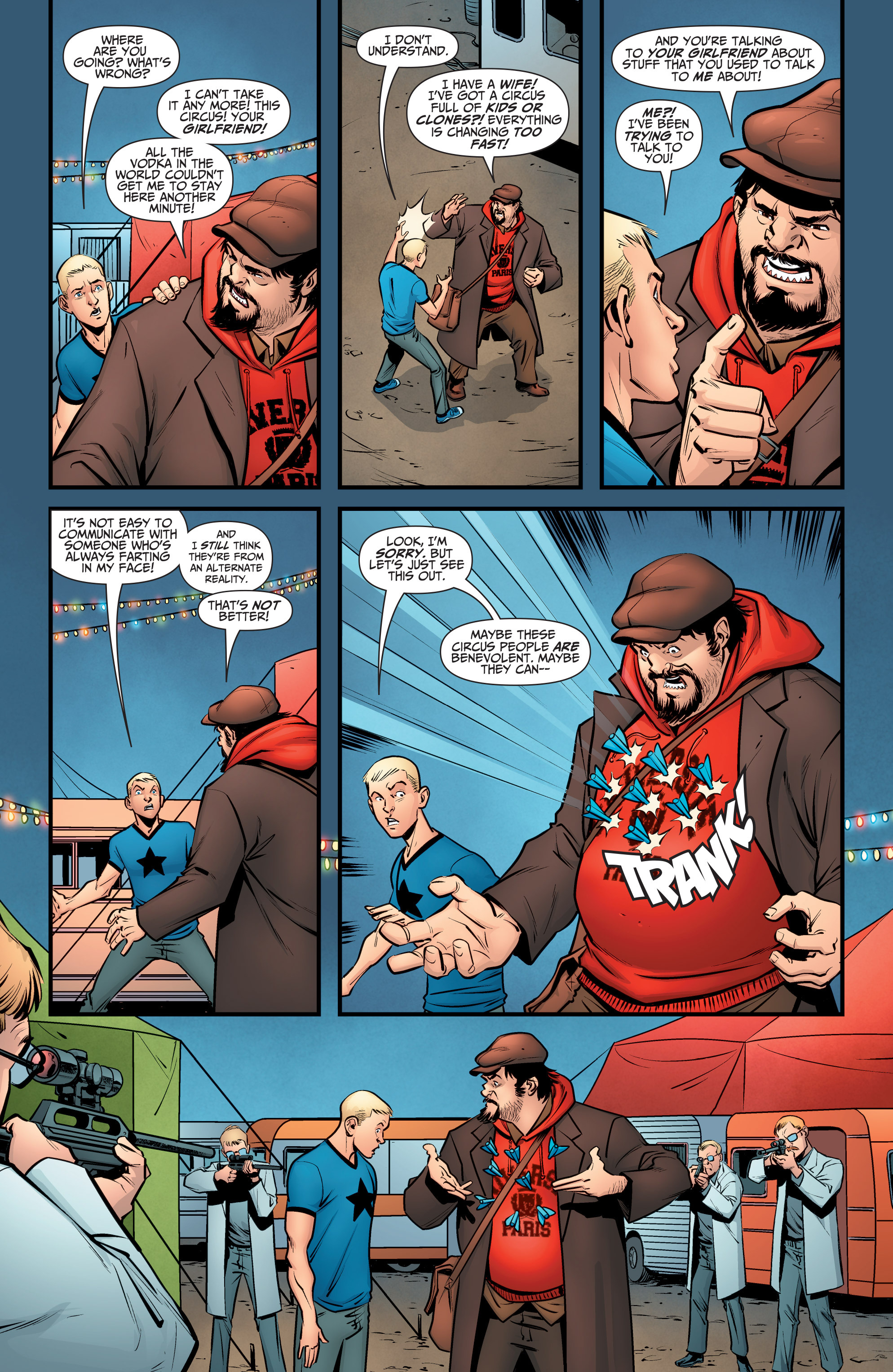 Read online A&A: The Adventures of Archer & Armstrong comic -  Issue #6 - 19