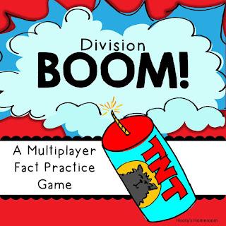 https://www.teacherspayteachers.com/Product/Boom-Division-Fact-Practice-Game-366597