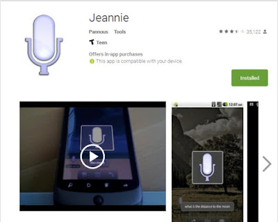 Jeannie, The Virtual Assistant