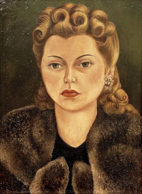 Frida Kahlo, Portrait of Natasha Gelman, 1943