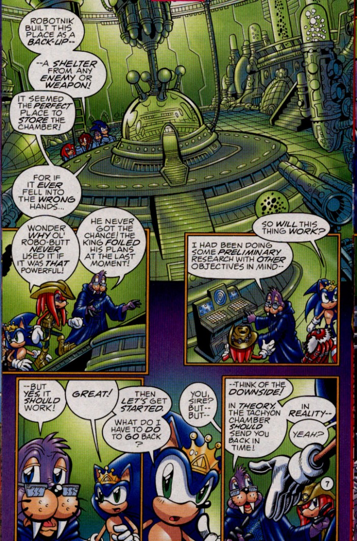 Read online Sonic The Hedgehog comic -  Issue #144 - 9