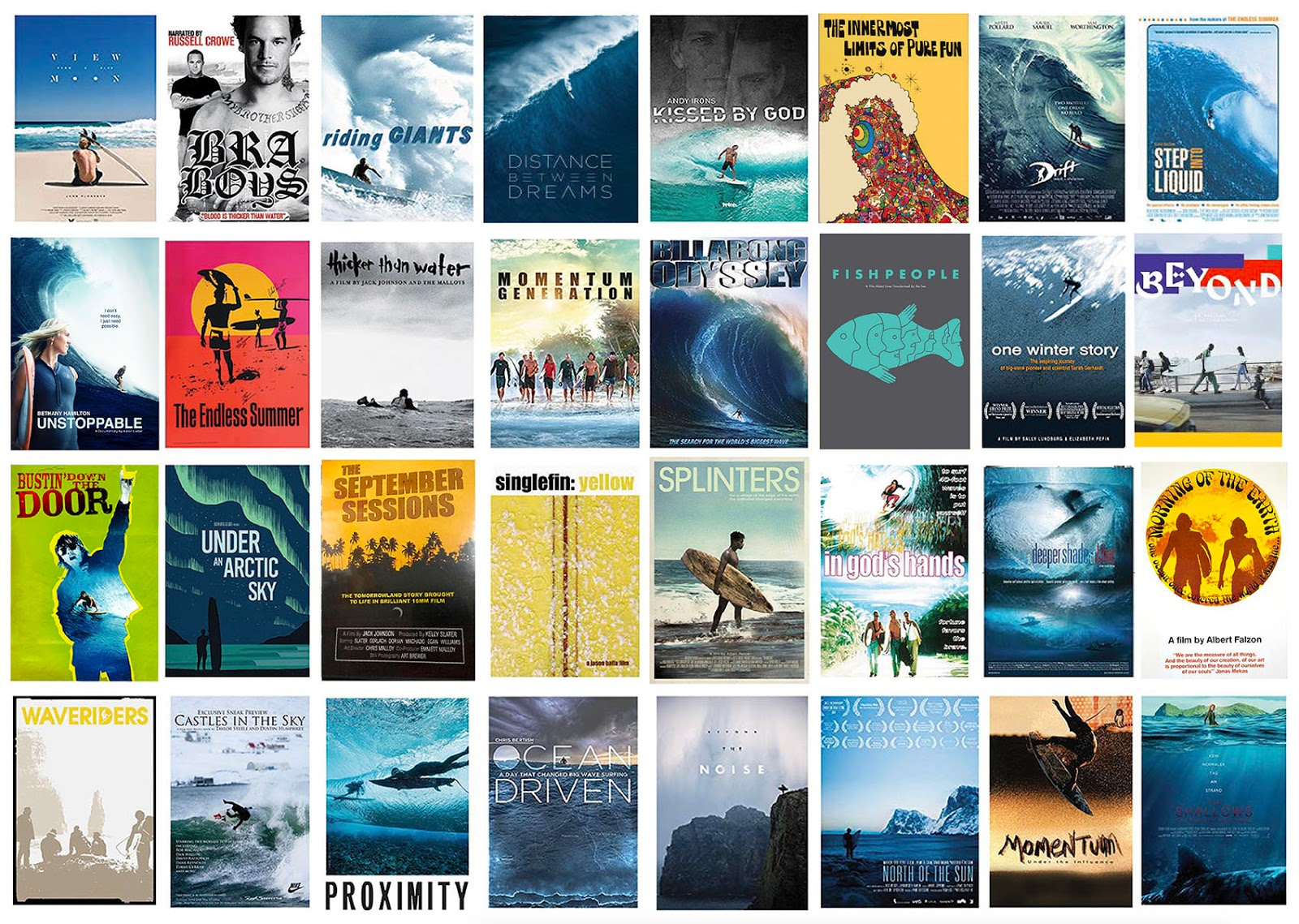 best surf movies small